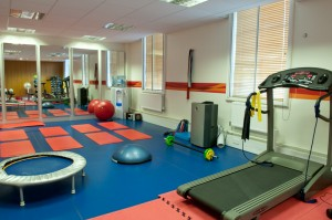 The gym at CHP's Chancery Lane clinic
