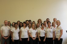 Central Health Physiotherapy Team Photo