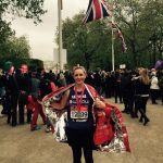 Katriona Ryan, Central Health Physiotherapy, post-marathon photo