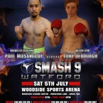 Paul Masangcay Muay Thai Fight promotional poster
