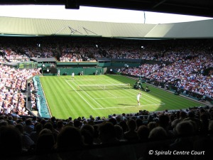 Picture of a full Centre Court