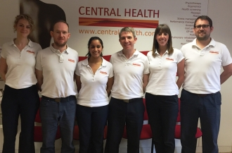 The Physio team at Chancery Lane Clinic, Central Health Physiotherapy