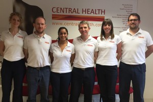 city physiotherapy team
