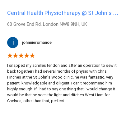Customer review for Chris Pinches by johnnieromance