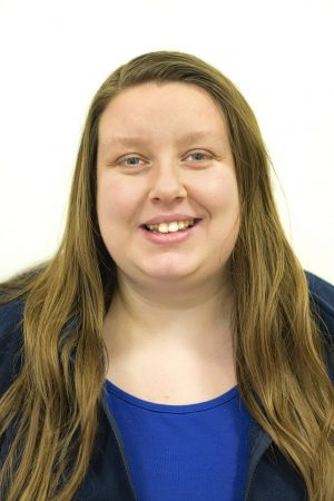 Emily Mackett, admin support with Central Health Physiotherapy