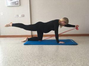 Pregnancy Exercise 1 - Superman