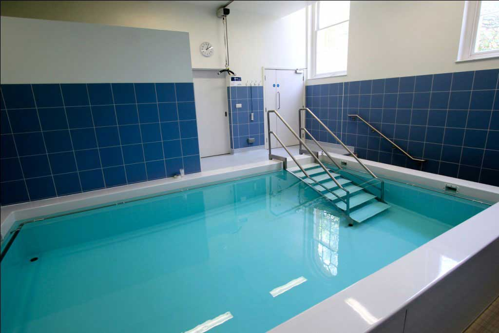 Hydrotherapy pool at The Royal Hospital Chelsea