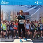 Katharine Fennelly, Physio with Central Health Physiotherapy, Marathon runner