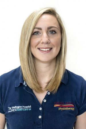 Central Health Physiotherapy physio Katriona Ryan