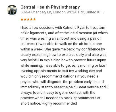 Customer review by Emma Dickson