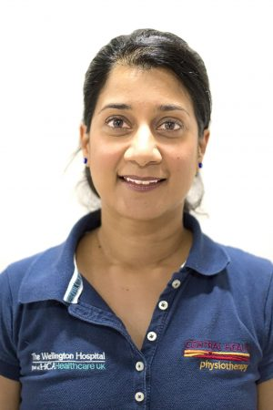 Central Health Physiotherapy physio Keena Shavji