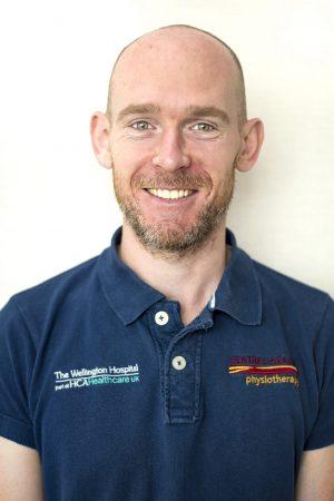 Central Health Physiotherapy physio Kieran O'Dea