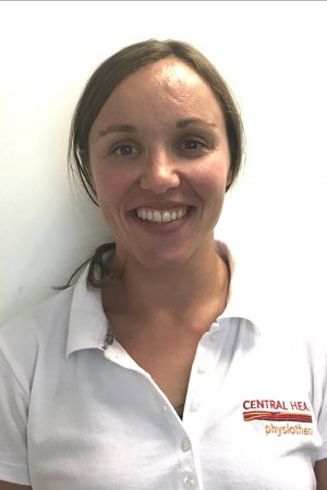 Laura Fidler, physiotherapist with Central Health Physiotherapy