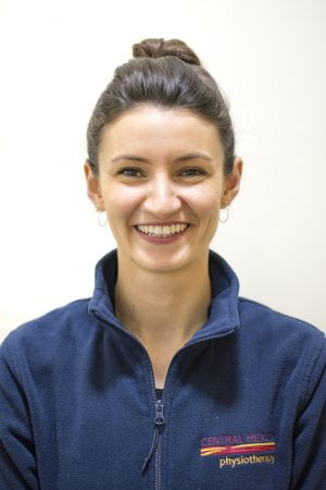 Lucie Bond, physiotherapist with Central Health Physiotherapy