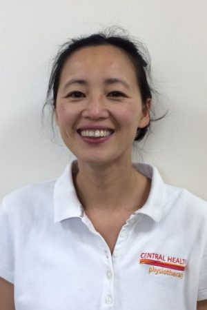 May to, physiotherapist with Central Health Physiotherapy, based at St John's Wood Clinic