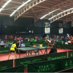 Table tennis at the Sainsbury's School Games