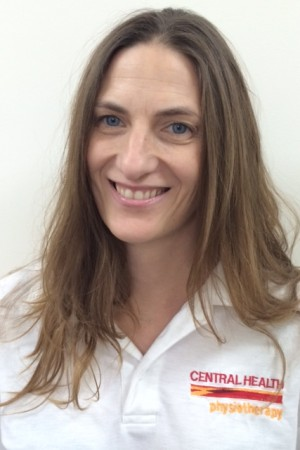 Central Health Physiotherapist Sarah Booth