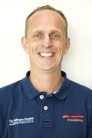 Physiotherapist Sean Seymour-Cole, Central Health Physiotherapy