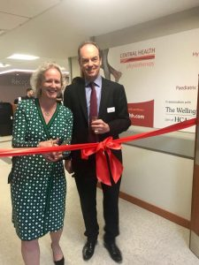 Natasha Price at the opening of our new St John's Wood clinic