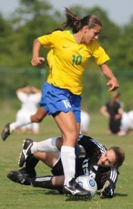 Women's football game