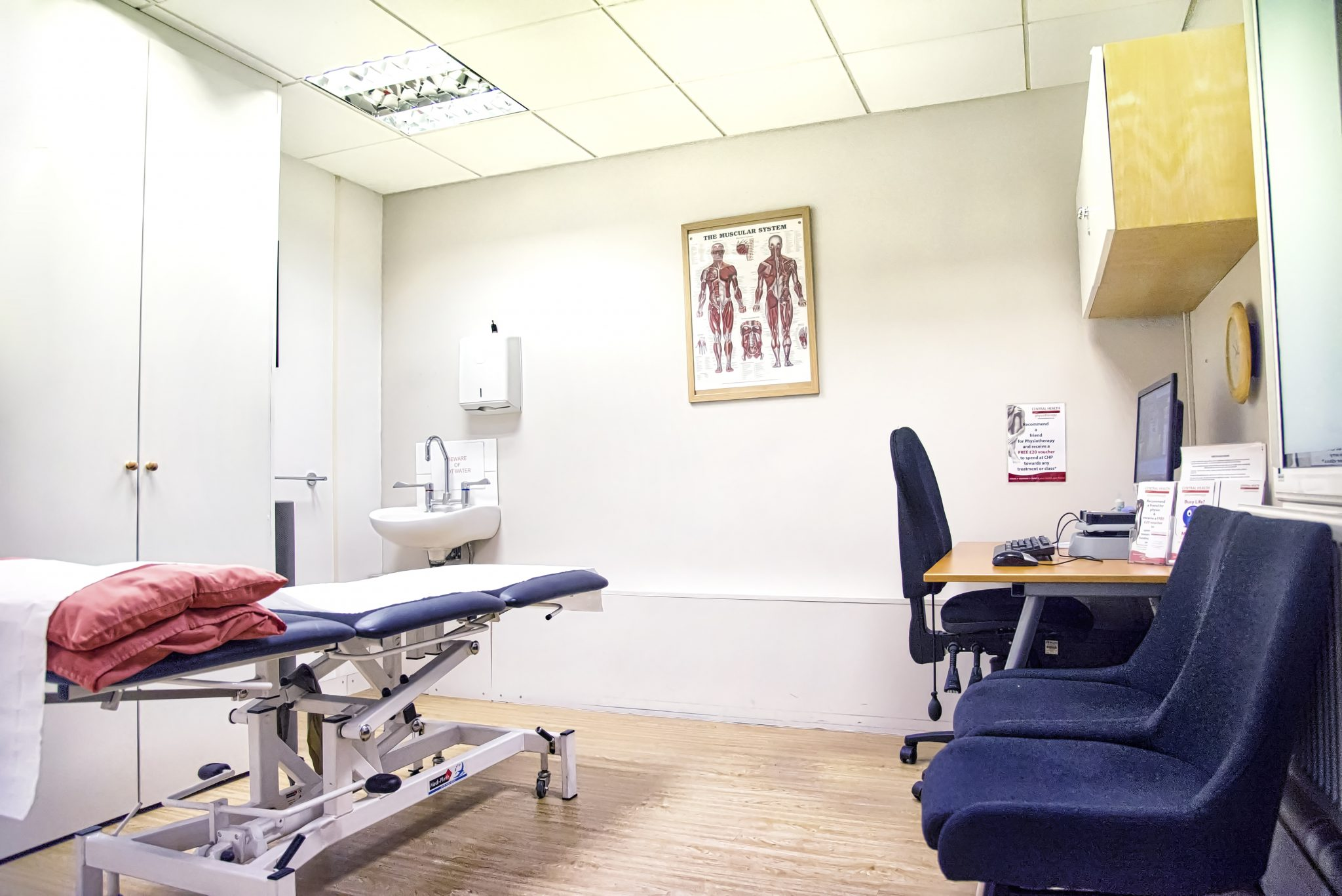 chancery lane physio clinic room