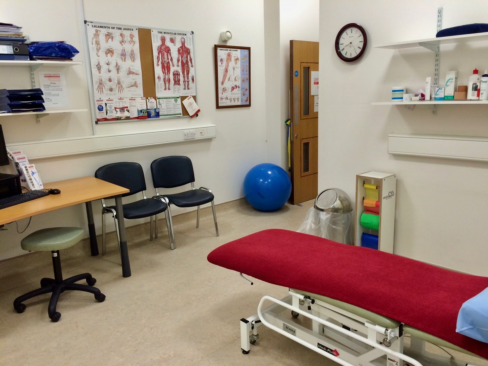 Central Health Chelsea Physiotherapy Room