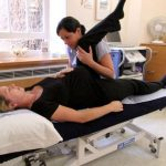 physiotherapy treatment session