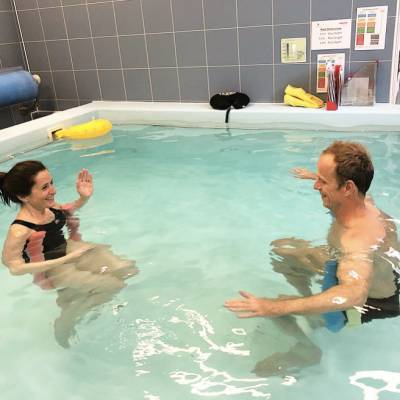 joint replacement rehab hydrotherapy