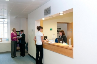 St Johns Wood Physiotherapy Clinic Reception