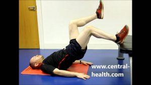 Single Leg Bridge Off Bench Exercise Video