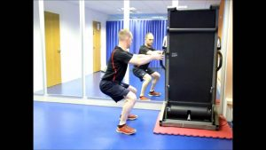 Squat with Support Exercise Video