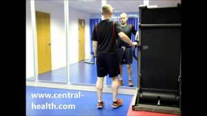 Eccentric Single Leg Calf Raise Exercise Video