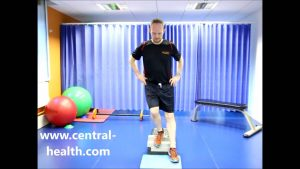 Single Leg Step Down Exercise Video