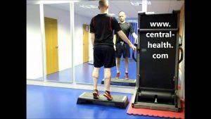 Double Leg Calf Raise Off Step Exercise Video